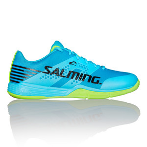 Salming Viper 5 Men Shoe Blue/Green Hallenschuhe