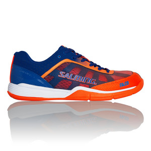 Salming Falco Kid Blue/Orange Halová obuv