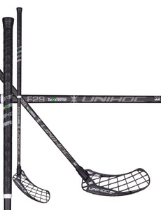 Unihoc EPIC TeXtreme Feather Light 29 black Floorball Schläger