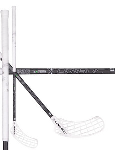 Unihoc SONIC TeXtreme Feather Light 26 white/black Floorball stick