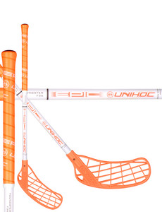 Unihoc EPIC YOUNGSTER 36 neon orange/white Florbalová hůl