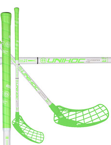 Unihoc EPIC YOUNGSTER 36 neon green/white Florbalová palica