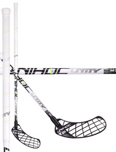 Unihoc UNITY Feather Light 26 white/black Florbalová palica