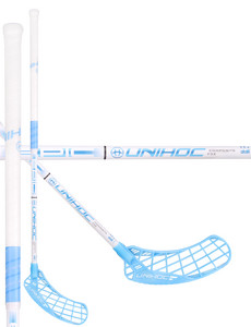 Unihoc EPIC Composite 32 white/blue Floorball stick
