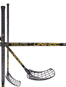 Unihoc EPIC TeXtreme Feather Light Curve 2.0º 29 gold Floorball Schläger