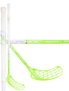 Unihoc SONIC Curve 1.5º 35 white/green Floorball stick
