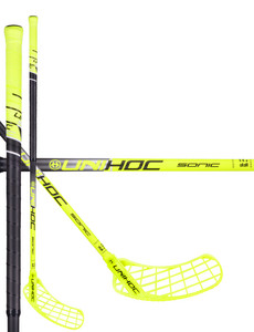 Unihoc SONIC Composite 26 neon yellow/black Floorball stick