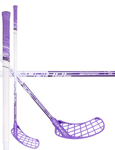 Unihoc SONIC Top Light II 29 white/purple Florbalová hokejka