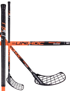 Unihoc SONIC EDGE Curve 1.0º 26 black/orange Floorball stick