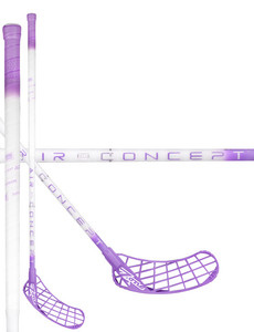 Zone floorball MONSTR AIR 29 white/violet Florbalová hokejka