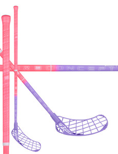 Zone floorball HYPER AIR Curve 1.5° 31 pink/viol Floorball stick
