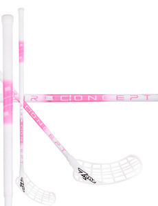 Zone floorball ZUPER AIR SL 29 white/pink Florbalová hokejka