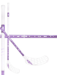 Zone floorball MONSTR AL 27 white/violet chrome Florbalová hokejka