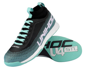 Unihoc U4 STL MidCut Men turquoise Indoor shoes