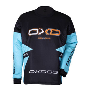 OxDog VAPOR GOALIE SHIRT TIFF BLUE/BLACK Dres