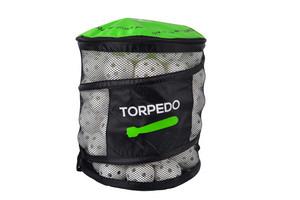 FLOORBEE Ball Bin + Torpedo IFF Match 100 ks, bílá