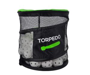 FLOORBEE Ball Bin + Torpedo IFF Match 50 ks, bílá
