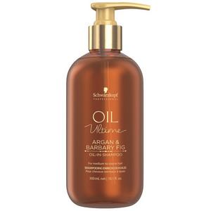 Schwarzkopf Professional Oil Ultime Argan & Barbary Fig Oil-In-Shampoo 300ml