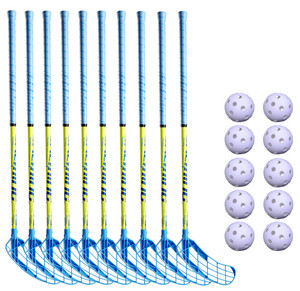 Salming Matrix 32 set Floorball set