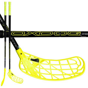 OxDog ZERO HES 26 YL 103 OVAL MBC černá / žlutá, Levá, 103cm (=113cm)