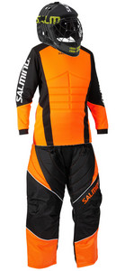 Salming Atlas JR set WH Goalie set