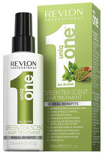 Revlon Professional Uniq One Green Tea Hair Treatment Sprühkur ohne Ausspüllne mit greenem Tee
