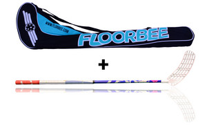 LEXX Timber 2,9 Navy + Stickbag Floorball Schläger und Stickbag - Set