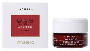 Korres Wild Rose Day Cream - Dry Skin 40ml