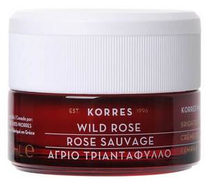 Korres Wild Rose Day Cream - Dry Skin dry and normal skin