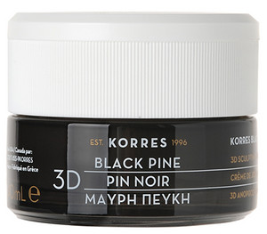 Korres Black Pine 3D Scuplting, Firming and Lifting Night Cream nočný liftingový krém
