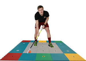 My Floorball Skills Zone 360 Floorball training surface