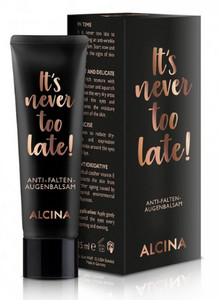 Alcina It's Never Too Late Anti-Wrinkle Eye Balm očný krém proti vráskam