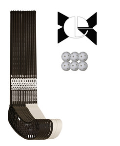 Necy Raw Redeemer PC 95/107cm Teamset Floorball set