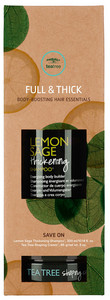 Paul Mitchell Tea Tree Lemon Sage Style Sets Thick & Full