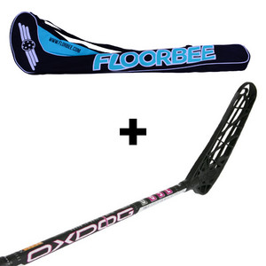 OxDog ZERO 31 + Stickbag Floorball Schläger und Stickbag - Set