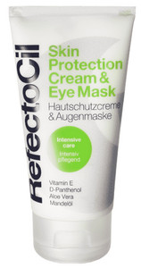 RefectoCil Skin Protection Cream and Eye Mask ochranný pleťový krém a očné maska