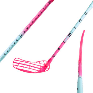 Salming Raptor Powerlite KickZone Floorball stick