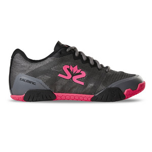 Salming Hawk Women GunMetal/Pink Indoor shoes