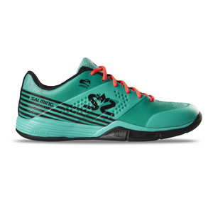 Salming Viper 5 Men Turquoise/Black Indoor shoes