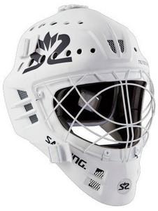 Salming Phoenix Elite Helmet bílá, Senior - max 58 cm