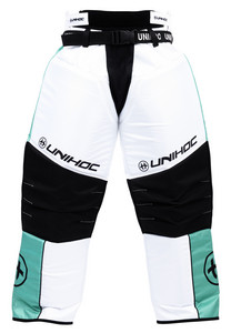 Unihoc KEEPER turquoise/white Goalkeeper pants
