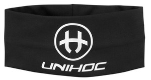Unihoc Headband TECHNIC wide black čelenka