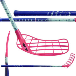 Salming Raptor Powerlite KickZone Oval Floorball stick
