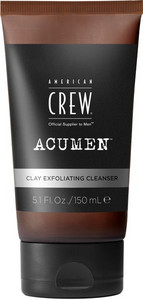 American Crew Acumen Clay Exfoliating Cleanser jemný peeling