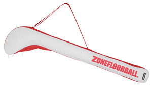 Zone floorball Stick cover ALMIGHTY white/red vak na hokejku