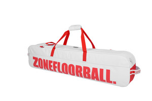 Zone floorball ALMIGHTY white/red Toolbag