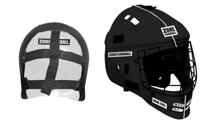 Zone floorball MASK PATRIOT black Goalie Helmet