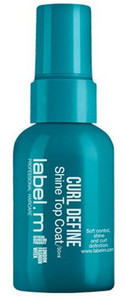 label.m Curl Define Shine Top Coat