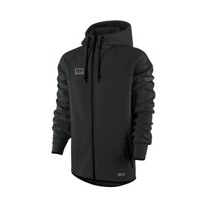 Zone floorball Hood ZIP HITECH black Kapuzenpulli