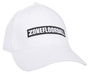 Zone floorball Cap IVERSON white šiltovka